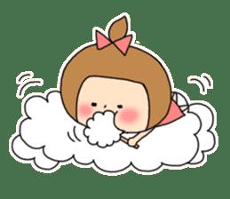 strange lovely girl Heko sticker #1352914