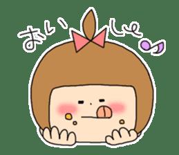 strange lovely girl Heko sticker #1352915