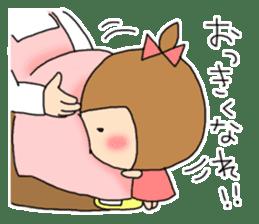 strange lovely girl Heko sticker #1352921