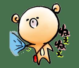 Kumapoo sticker #1354458