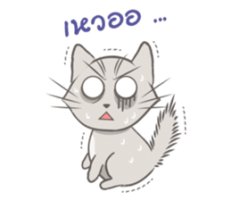 Mochi the cat sticker #1355371