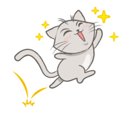Mochi the cat sticker #1355394