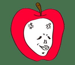 Apple man & Orange man sticker #1356575