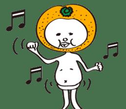 Apple man & Orange man sticker #1356583