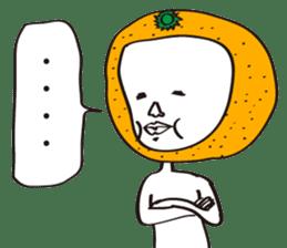Apple man & Orange man sticker #1356585
