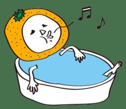 Apple man & Orange man sticker #1356587