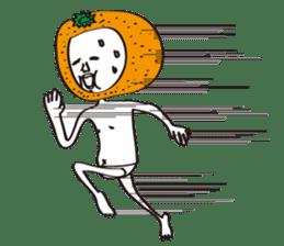 Apple man & Orange man sticker #1356588