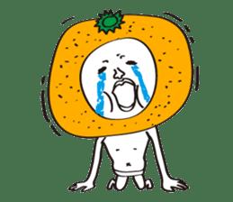 Apple man & Orange man sticker #1356589