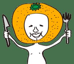 Apple man & Orange man sticker #1356592