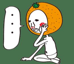 Apple man & Orange man sticker #1356596