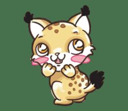 Lala the Lynx sticker #1358564