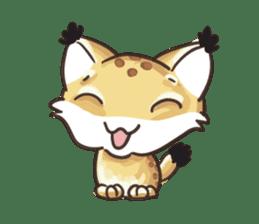 Lala the Lynx sticker #1358569