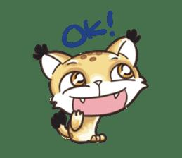 Lala the Lynx sticker #1358571