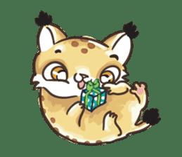 Lala the Lynx sticker #1358579