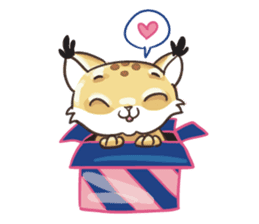 Lala the Lynx sticker #1358581