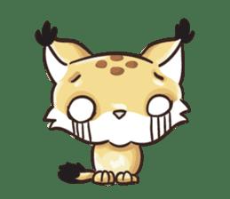 Lala the Lynx sticker #1358582