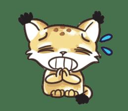 Lala the Lynx sticker #1358584