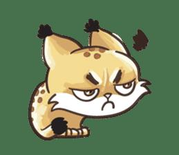 Lala the Lynx sticker #1358589