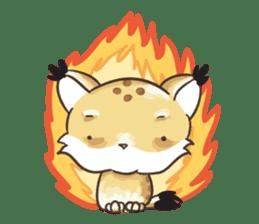 Lala the Lynx sticker #1358591