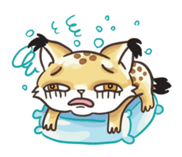 Lala the Lynx sticker #1358594