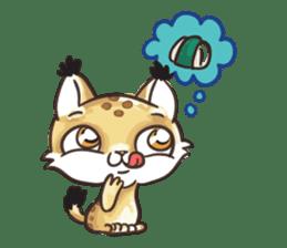 Lala the Lynx sticker #1358596