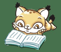 Lala the Lynx sticker #1358599