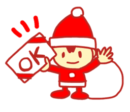 Probationary Santa Claus sticker #1358682
