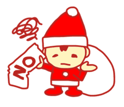 Probationary Santa Claus sticker #1358683