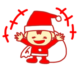 Probationary Santa Claus sticker #1358684