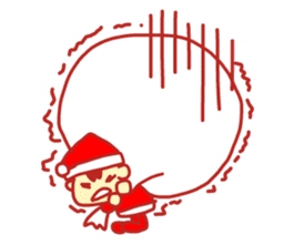Probationary Santa Claus sticker #1358686