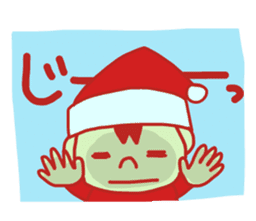 Probationary Santa Claus sticker #1358690