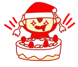 Probationary Santa Claus sticker #1358716