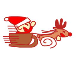 Probationary Santa Claus sticker #1358718