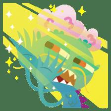 monster town sticker #1359261