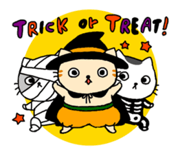 Let's Halloween party ! sticker #1361482