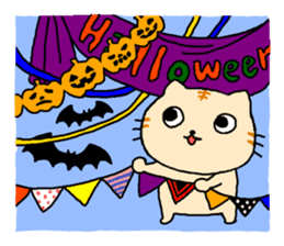 Let's Halloween party ! sticker #1361484