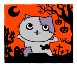 Let's Halloween party ! sticker #1361486