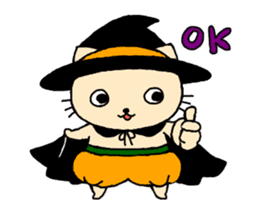 Let's Halloween party ! sticker #1361492
