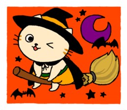 Let's Halloween party ! sticker #1361497