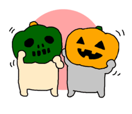 Let's Halloween party ! sticker #1361502