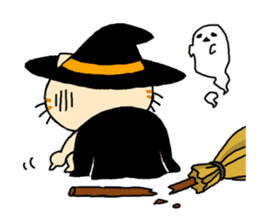 Let's Halloween party ! sticker #1361510