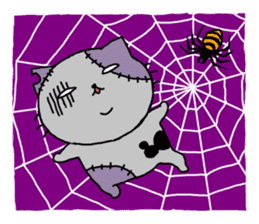 Let's Halloween party ! sticker #1361513