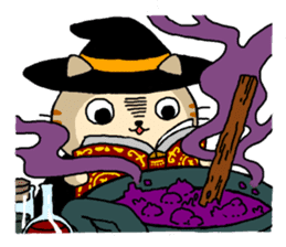 Let's Halloween party ! sticker #1361520