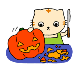 Let's Halloween party ! sticker #1361521