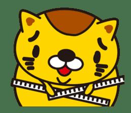 The cat which diets sticker #1363444