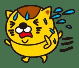 The cat which diets sticker #1363454