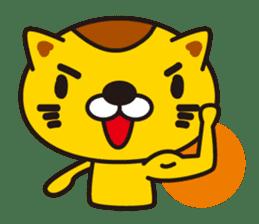 The cat which diets sticker #1363461