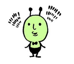 Greeninsect-kun sticker #1363562