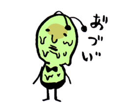 Greeninsect-kun sticker #1363567