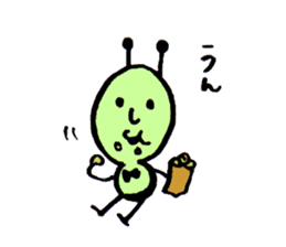 Greeninsect-kun sticker #1363573